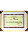 ÔNG NGUYỄN ĐÌNH TRUNG NHẬN ĐƯỢC BẰNG KHEN CỦA UBND QUẬN 3, TP.HCM