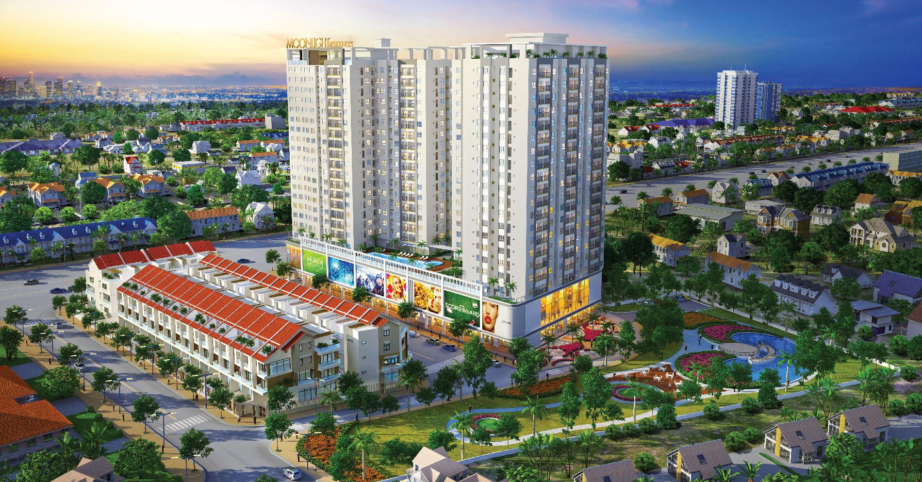 Moonlight Residences dự án căn hộ cao cấp khu Bình Thọ