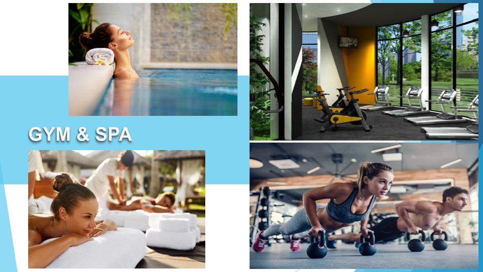 Gym & Spa dự án Hồ Tràm ComPlex