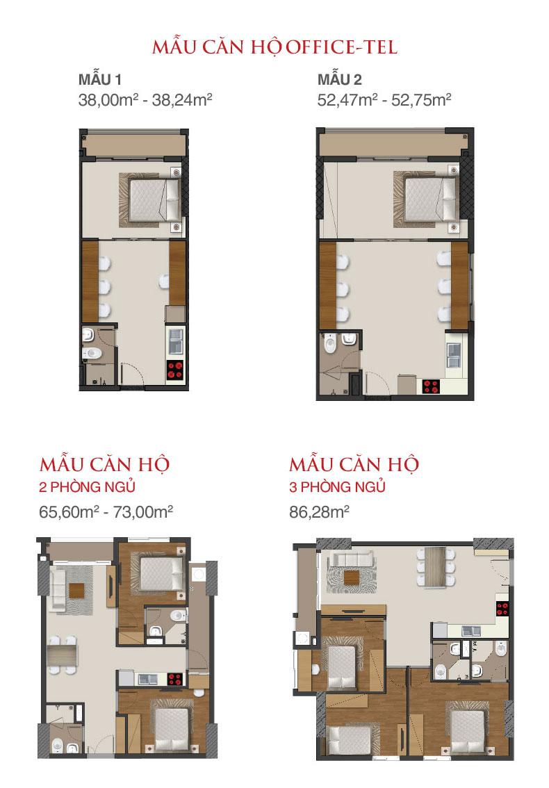 Thiết kế căn hộ Richmond City